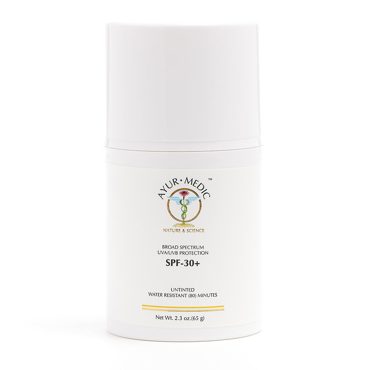 Ayur-Medic SPF 30+ Untinted Sunscreen