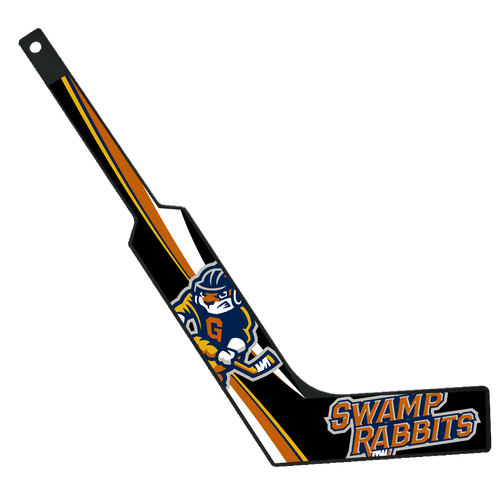 Swamp Rabbits Mini-Hockey Goalie Sticks - Black