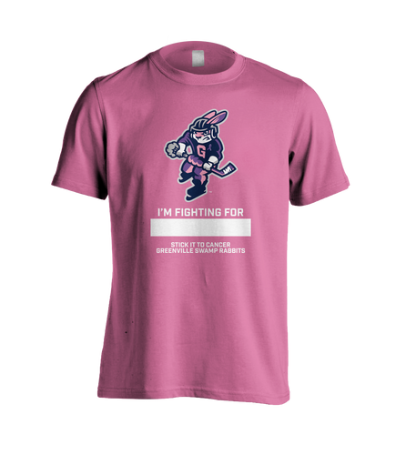 Swamp Rabbits Cancer Shirt Pink