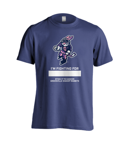 Swamp Rabbits Cancer Shirt Purple