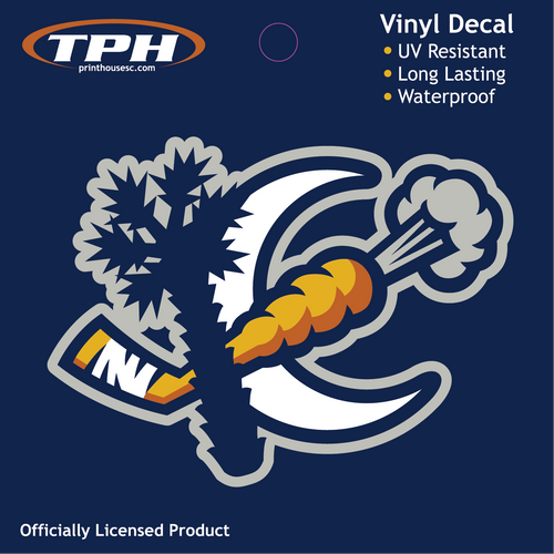 Swamp Rabbit Crescent Decal