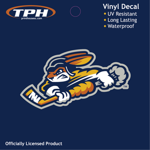 SWAMP RABBITS RABBIT DECAL LOGO