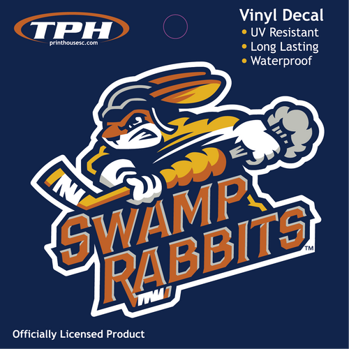 Swamp Rabbit Standard Decal