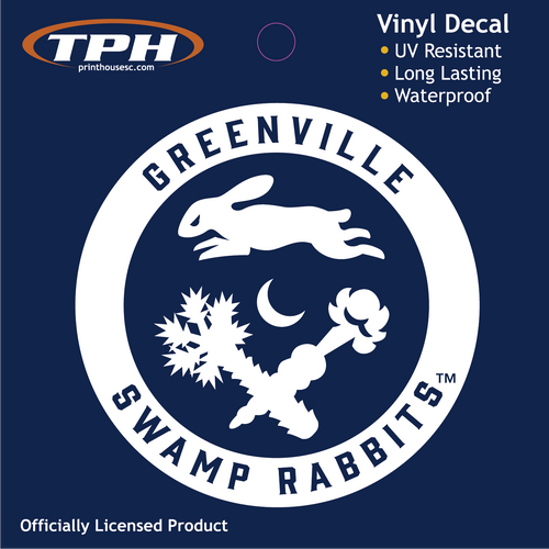 Swamp Rabbit Retro Decal