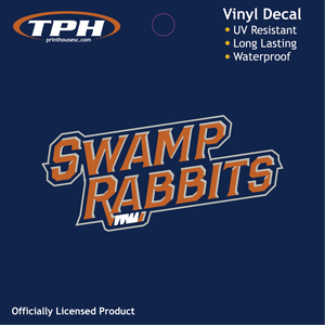 SWAMP RABBIT WORDS ONLY DECAL
