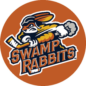 Swamp Rabbits Standard Logo Pop Socket Orange