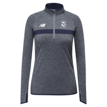 Load image into Gallery viewer, GSR- New Balance Ladies Athletic Half Zip - Navy