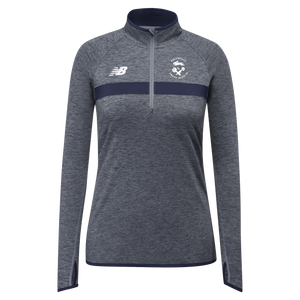 GSR- New Balance Ladies Athletic Half Zip - Navy