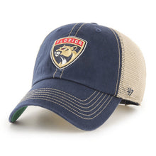 Load image into Gallery viewer, Florida Panthers Navy Trawler '47 Brand Clean Up Hat
