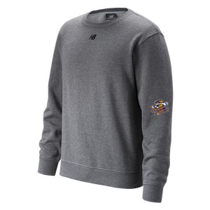 GSR- New Balance Mens Fleece Crew - Charcoal
