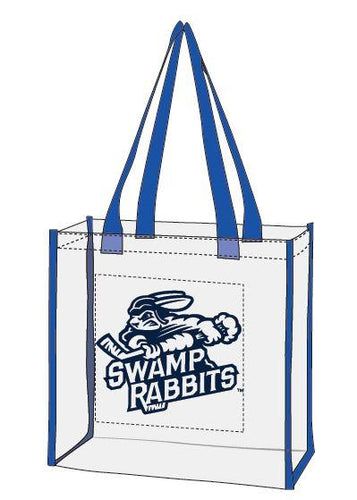 Swamp Rabbits Clear Tote Bag