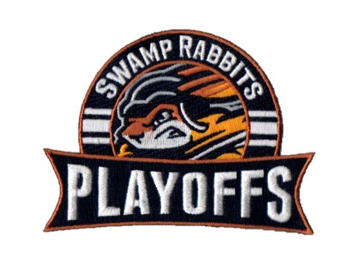 Swamp Rabbits Playoff Patches
