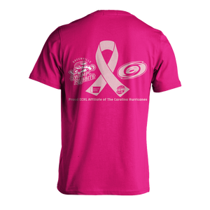 Swamp Rabbit- Real Jerks Wear Pink Cancer Shirts