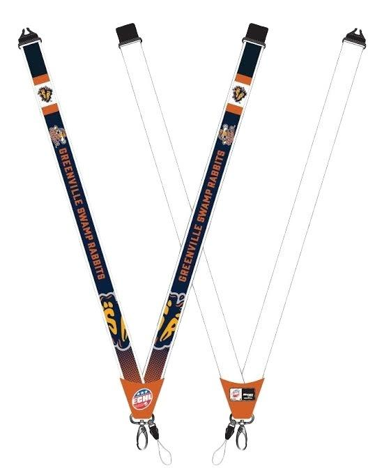 Swamp Rabbits Lanyard