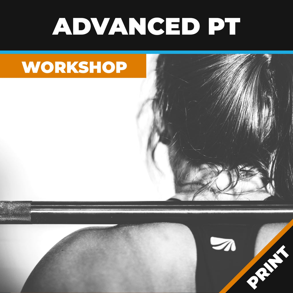 Advanced Personal Training Online Workshop PRINT