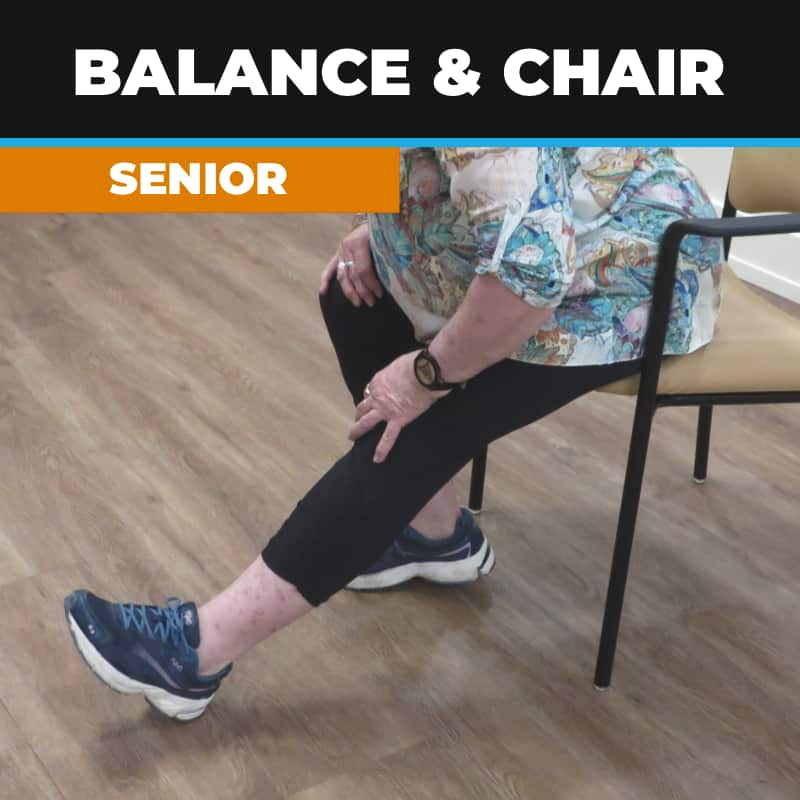 Balance and Chair Exercises; Seniors Fitness
