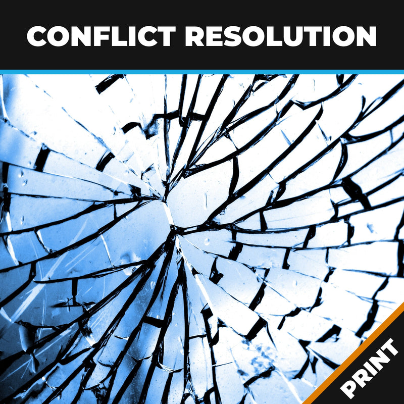 Conflict Resolution and Dealing with Difficult Behaviours PRINT