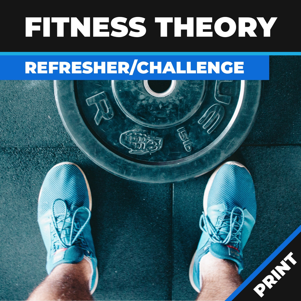 Fitness Theory Online Refresher Challenge Course Print