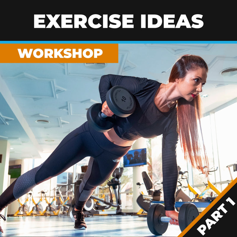 Exercise Ideas for Fitness Professional Part 1 (workshop package)