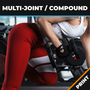 Multi-Joint/Compound Exercises for Functional Movement print
