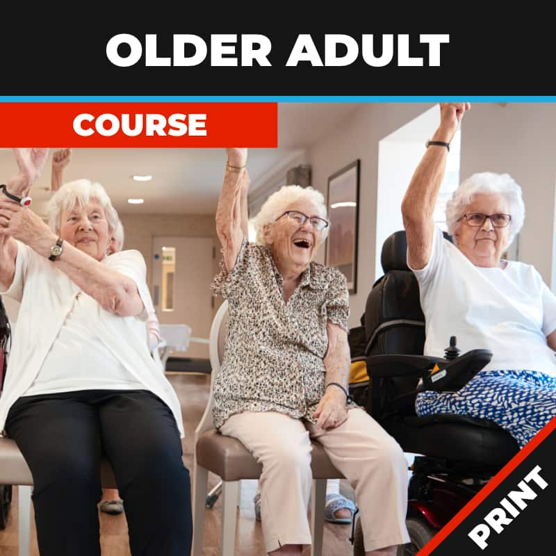 Older Adult Fitness Print
