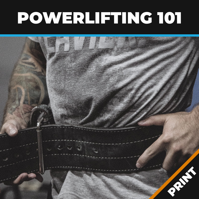 Powerlifting 101; Powerlifting to Win! PRINT