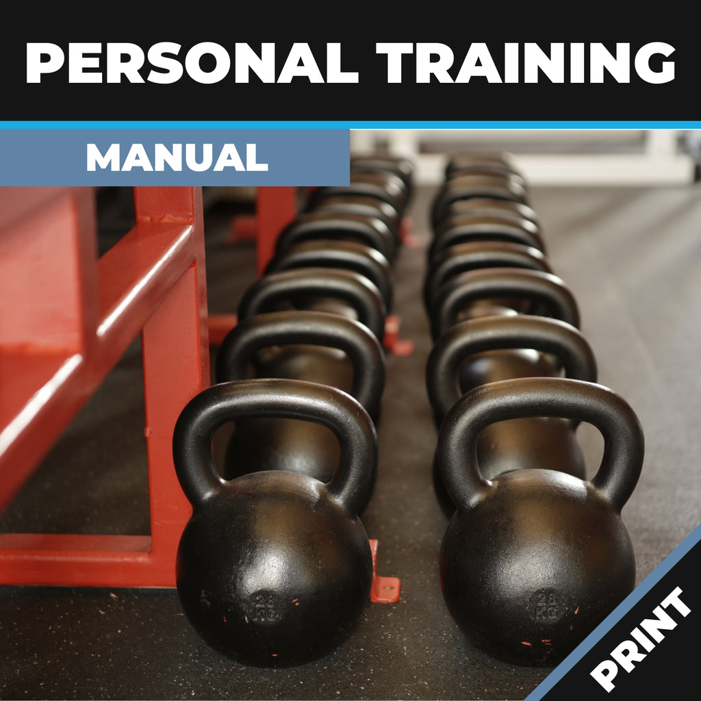 Personal Training Manual Print