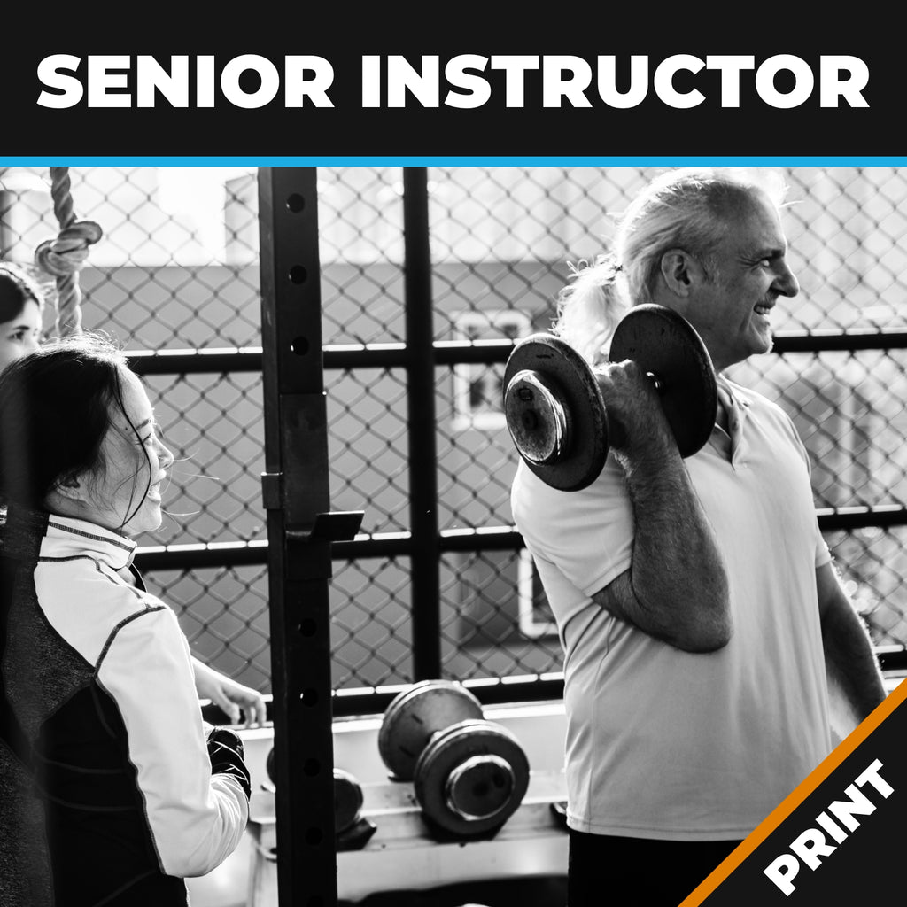 Third Age (Seniors) Instructor PRINT