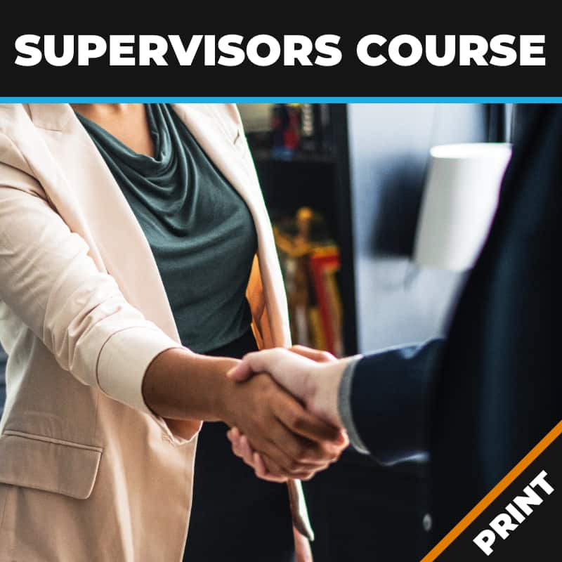 Supervisors Course Print