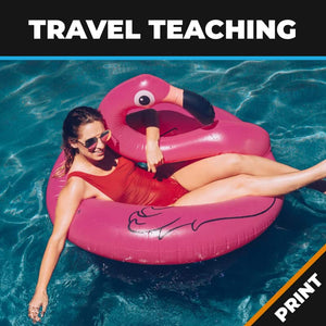 Travel Teaching Print