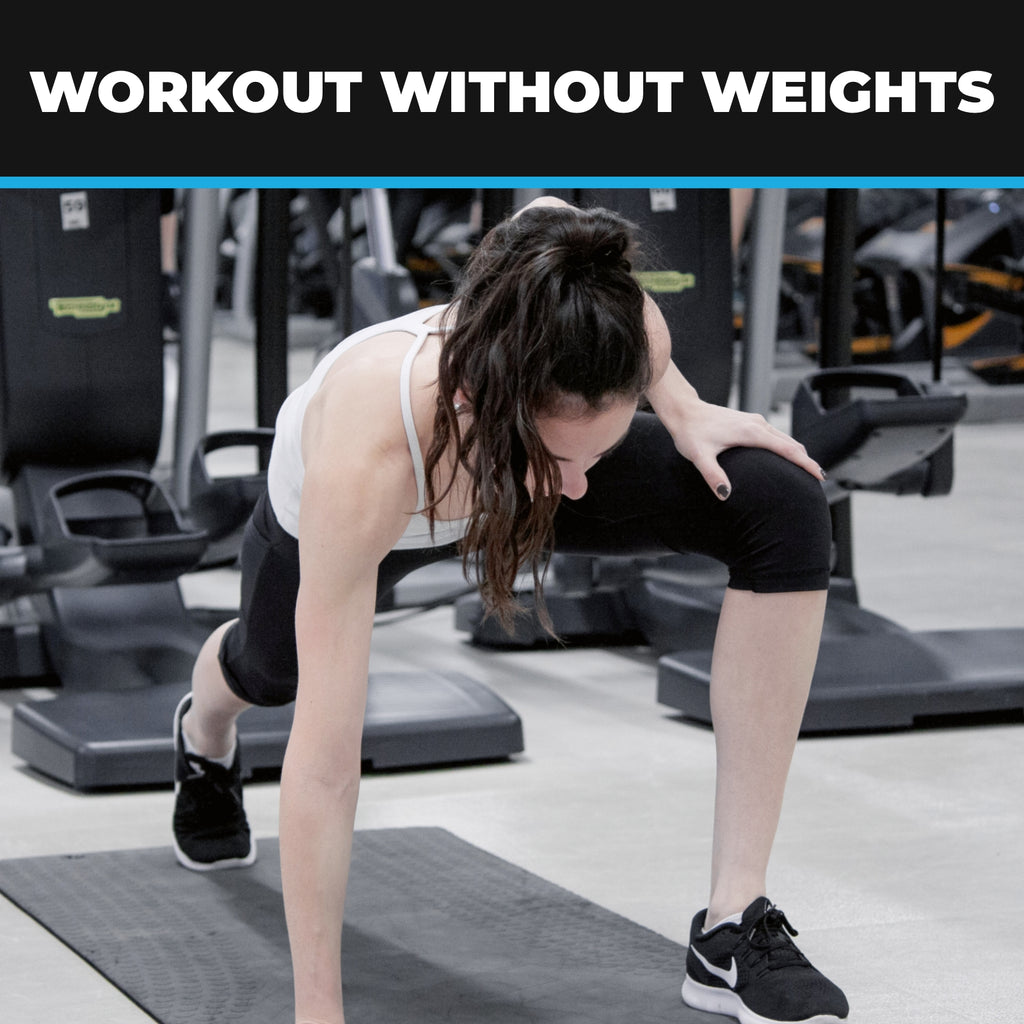 Workout Without Weights – Be Your Own Gym
