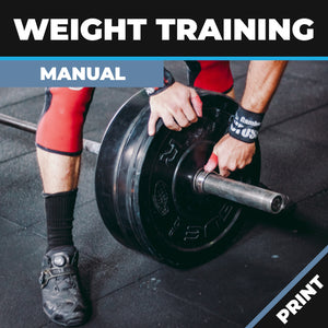 Weight Course Manual Print Copy