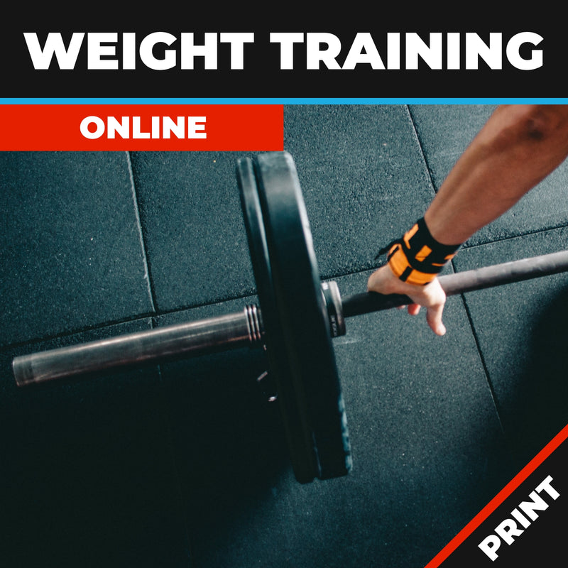 Weight Training Online Course Printed