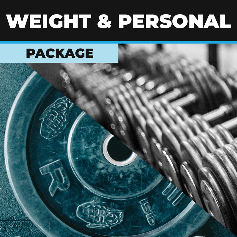 Weight and Personal Trainers Online Package