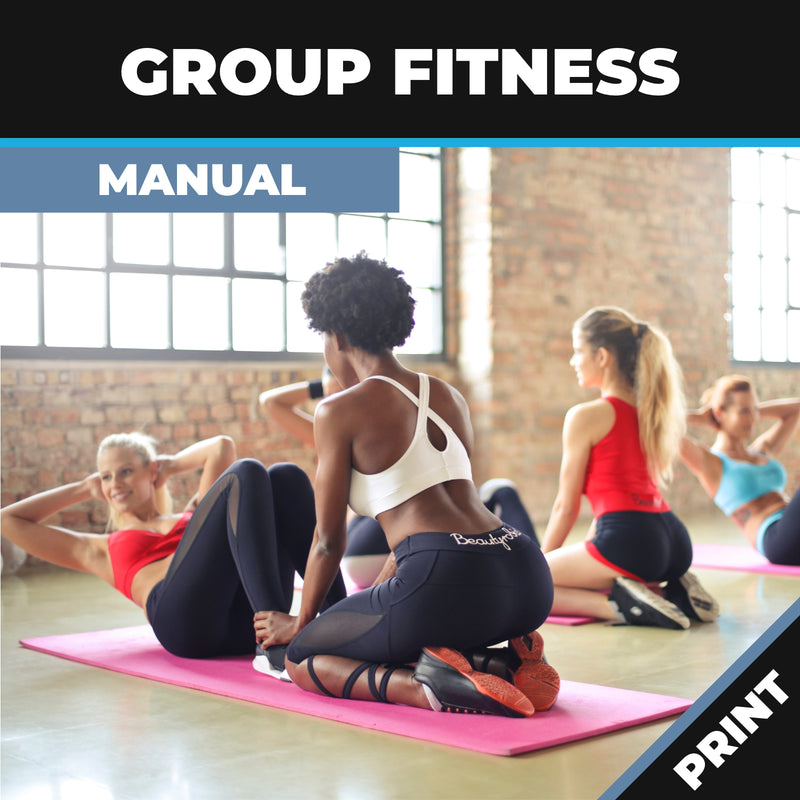 Group Fitness Manual Print