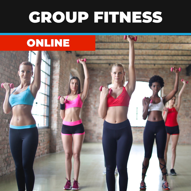 Group Fitness course Online