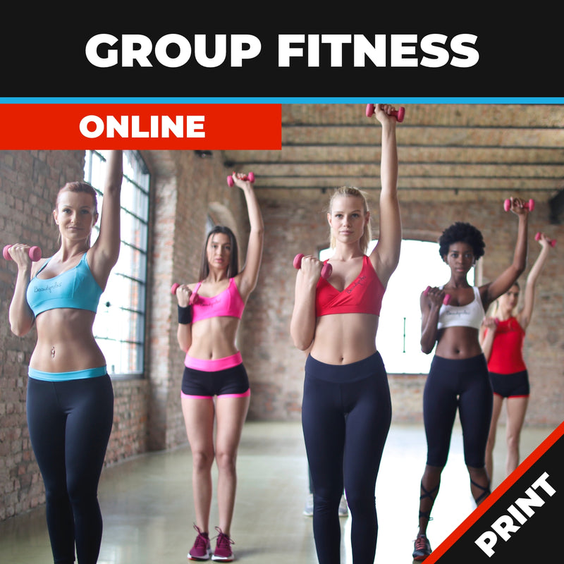 Group Fitness course Online PRINT