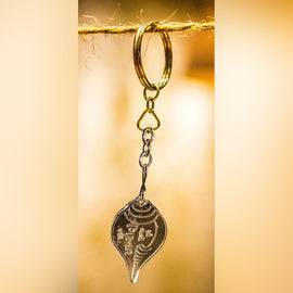 Girnar Key Chain (Gujarati | Gold)