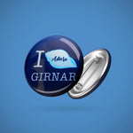 I Adore Girnar -  Badge