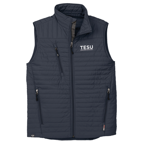 MEN'S ECO-INSULATED QUILTED VEST- Sans Serif