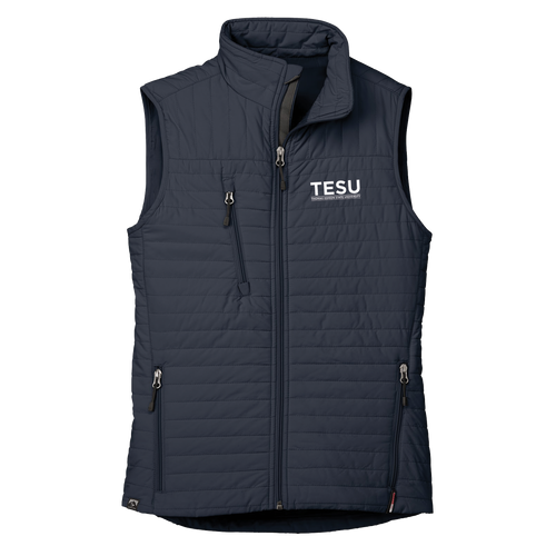 WOMEN'S ECO-INSULATED QUILTED VEST- Sans Serif