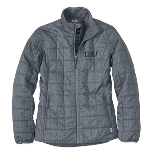 WOMEN'S ECO-INSULATED TRAVELPACK JACKET- Serif