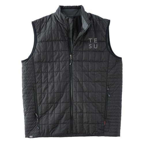 MEN'S ECO-INSULATED TRAVELPACK VEST- Grid