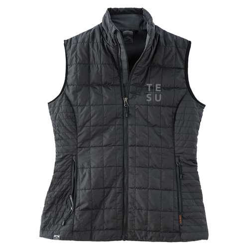 WOMEN'S ECO-INSULATED TRAVELPACK VEST- Grid