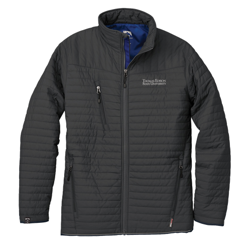 MEN'S ECO-INSULATED QUILTED JACKET- Academic
