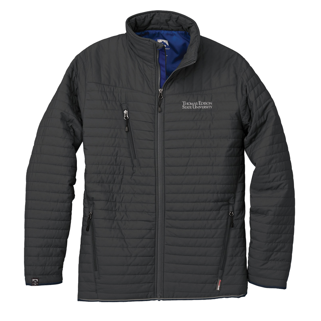 MEN'S STORM CREEK ECO-INSULATED QUILTED JACKET- Academic