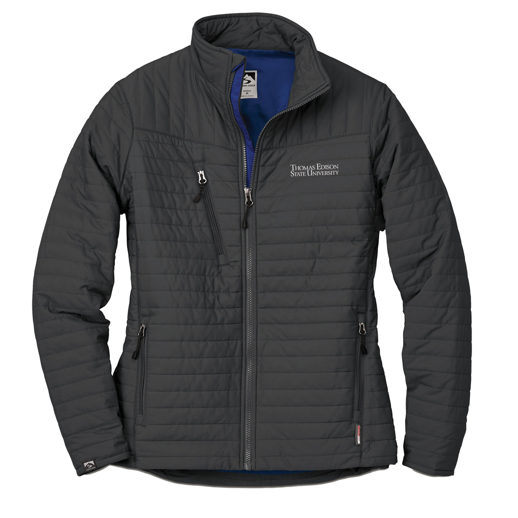 WOMEN'S STORM CREEK ECO-INSULATED QUILTED JACKET- Academic - Clearance