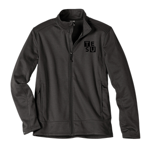 MEN'S STORM CREEK HEATHER PERFORMANCE FLEECE JACKET- Block