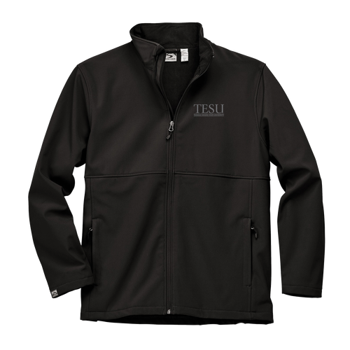 MEN'S STORM CREEK HIGH-STRETCH FLEECE-LINED SOFTSHELL JACKET- Serif