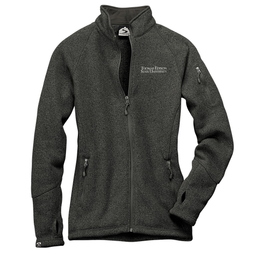 WOMEN'S SWEATERFLEECE JACKET- Academic